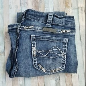 Cowgirl Tuff VIP Embellished Bootcut Jeans